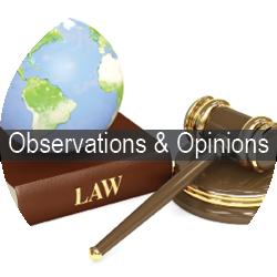 observations & Opinions | Wolpert Schreiber McDonnell P.C.