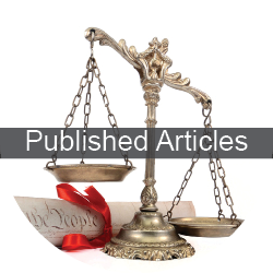 published articles law firm   Wolpert Schreiber McDonnell P.C.